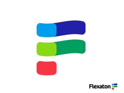 Tech / IT Startup Logo Design | F Letter Monogram Lettermark