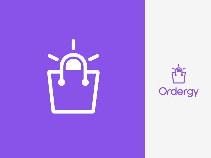 Ecommerce / Online Shopping Logo Design Concept   Brand Identity identity corporate shape symbol mark logo design logo startup branding brand icon software soft app store shop shopping online ecommerce