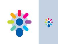 Light Bulb + Person / HR Logo Concept | Brand Identity
