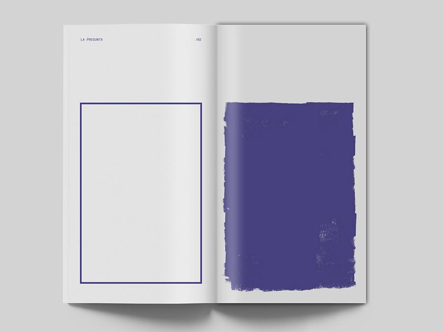 La pregunta sin respuesta editorial typography graphicdesign branding