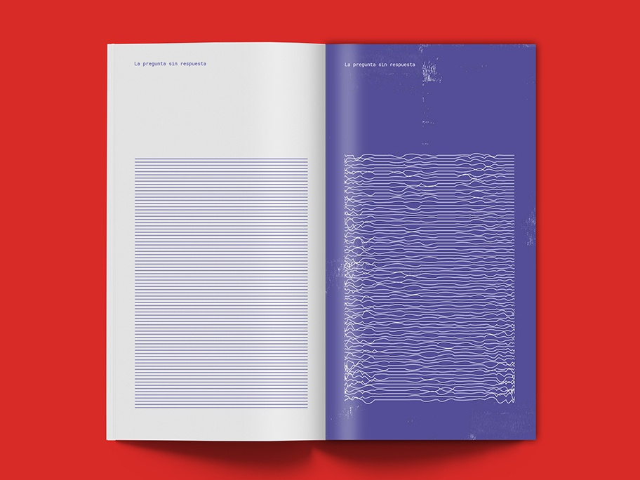 La pregunta sin respuesta vector illustration graphicdesign editorial design branding