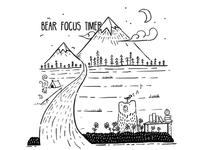 Bear Focus Timer