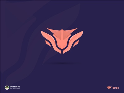 Birdo sayeedbdz birdo symbol icon design designs logo concept trending logo tiger eye animal logo birdo logo modern logo logo logos logo designer gradiant vector logo color branding logodesign