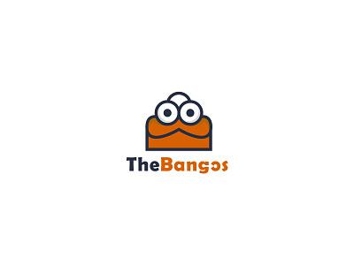 The Bangos ecommerce logo logohub red logo trending ui web designer sayeedbdz the bangos logo design logos logo designer logo color gradiant graphic design logodesign branding