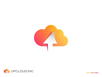 Up cloud Logo Concept ui arrow arrow logo cloud cloud logo design vector logo cloud logo vector upcloud cloud logo logo illustration design logos logo designer logo color gradiant graphic design logodesign branding