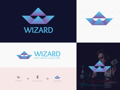 Wizard Logo design