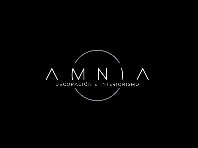 AMNIA - logo design (I'm rearranging my posts)