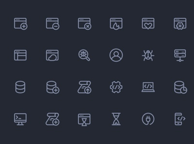 Line Hero - Apps and Programming icons