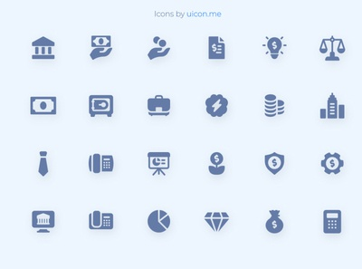 Business & Finance Icon Set finance business apps vector ui icons set icons icon set iconography icon designs icon design icon