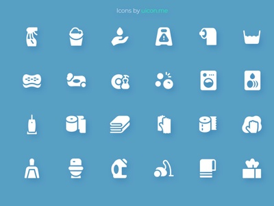 Cleaning Icon Set cleaning design vector ui icons set icon set icons iconography icon designs icon design icon