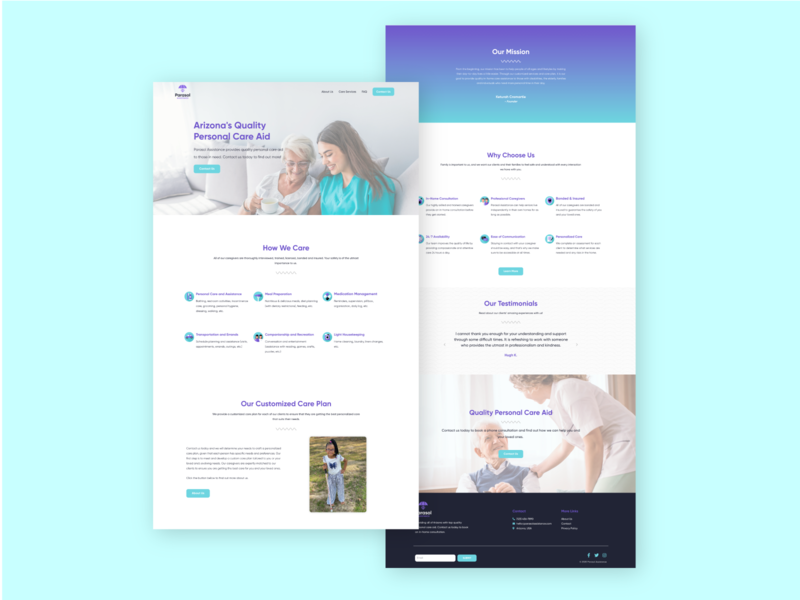 Homepage Design web website design homepage design branding