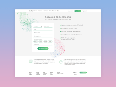 Request Demo Page