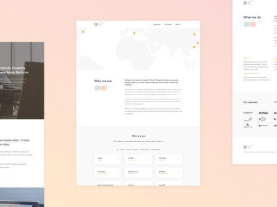 IUXP — Mockups sketch about home web design webdesign light minimal ux user experience