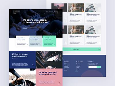 Redesign mockups arrows wip web design mockups web science cyan red blue