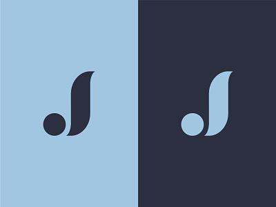 Jabstract icon typography minimal exploration logodesign vector shape j logomark logo lettering letter abstract