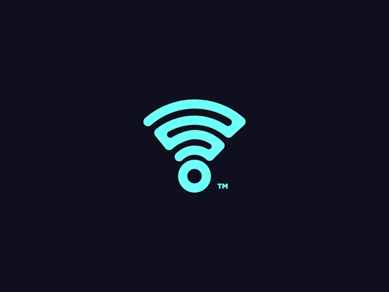 Net Work logo icon brand connect remote cloud it tech wifi internet logo