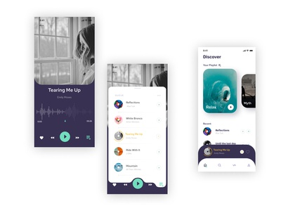 Daily UI Practice 19 - Music Player