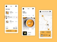 Daily UI practice 22 - Food delivery