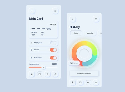 Daily UI practice 04 - credit card management