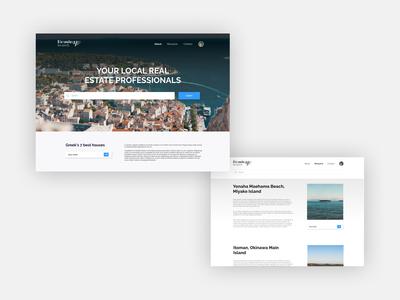 Daily UI Design 01 - Landing page
