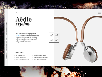 Aedle headphones