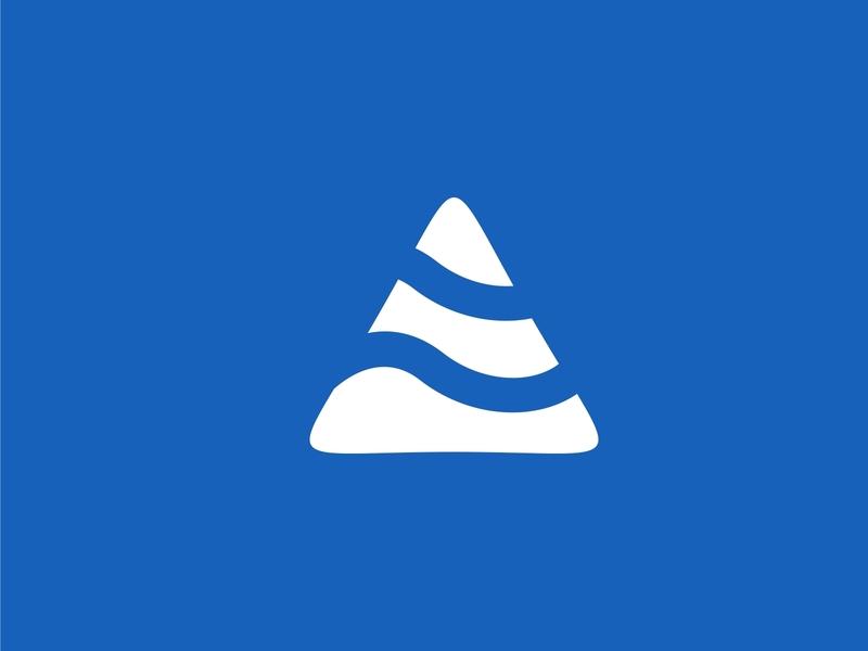 A + AIR Logo concept a letter air minimalist simple logo design business design logo
