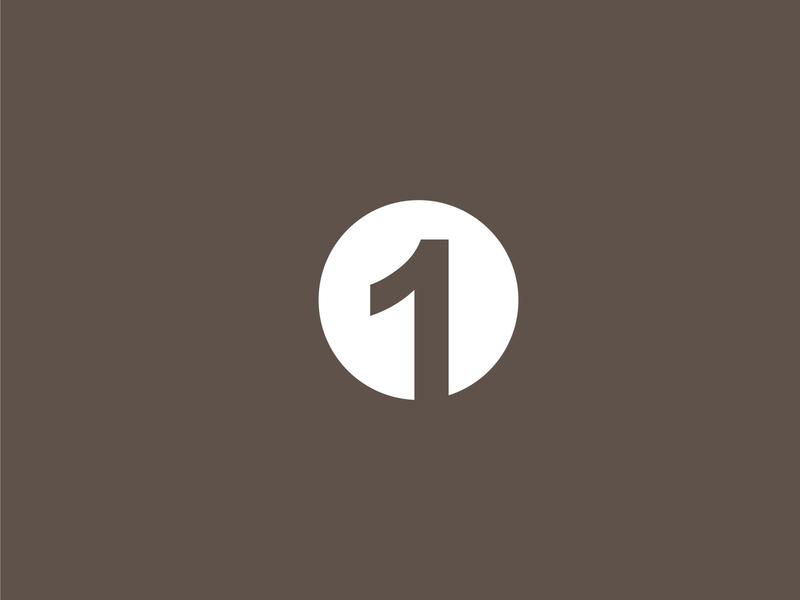 One Logo Concept only one minimalist simple logo design business brand design logo