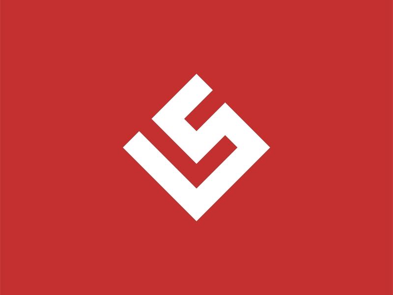 LS Letter Logo Design Concept bold fitness logo sport ls logo design simple logo minimalist design business