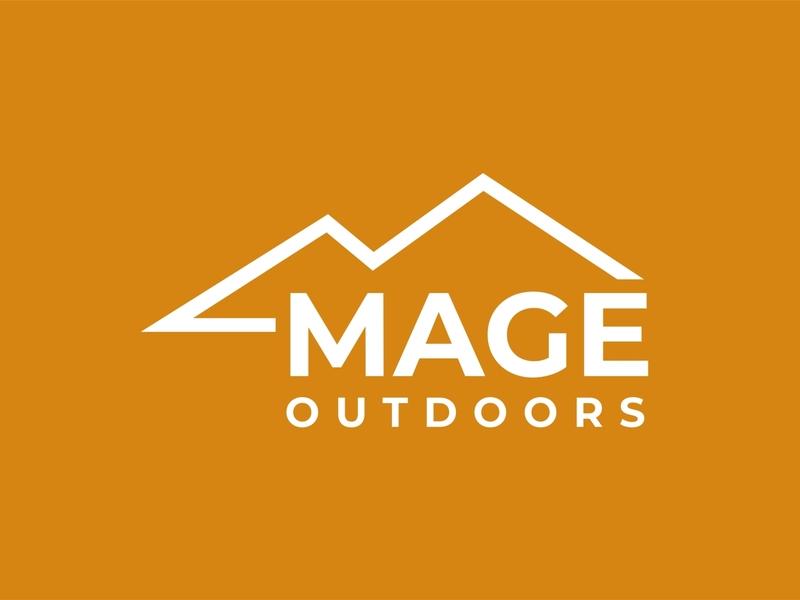 mage outdoors minimalist logo design business elegant logo abstract simple outdoors logo mountain logo brand logo design minimalist logo design logo minimalist