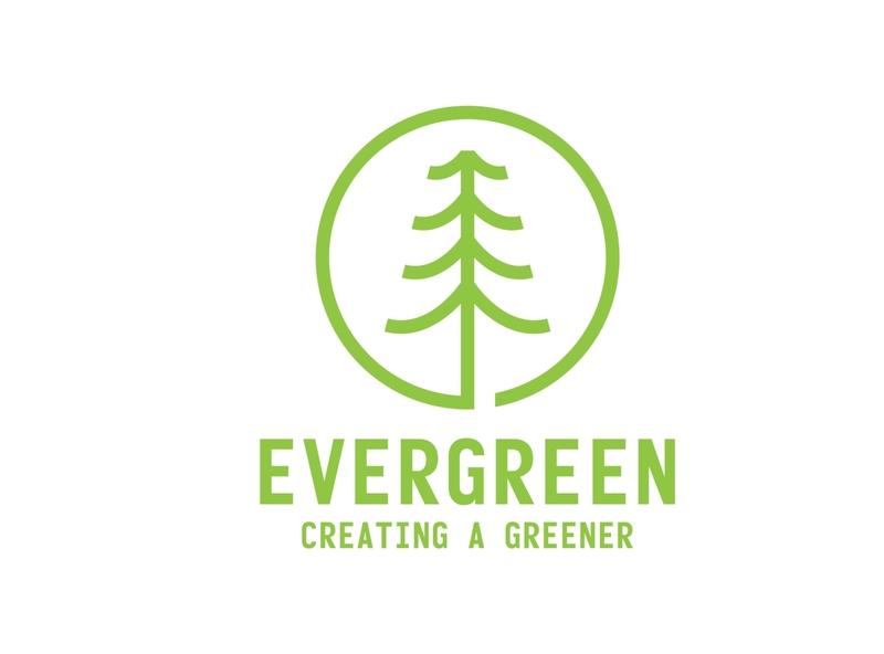evergreen minimalist logo design natural green logo logo ideas inspirational logo abstract logo business logo design branding simple logo minimalist logo logo design