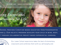Lower School Landing Page - WIP