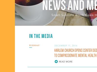 Media Page - WIP news media