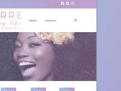 PIML Homepage blog gradients
