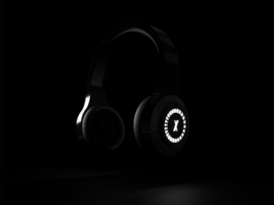 XSHINE - Procuct design product modeling render 3d modern light editors editing for headphones
