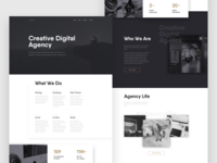 Agency Web - Concept