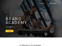 01 homepage brand academy