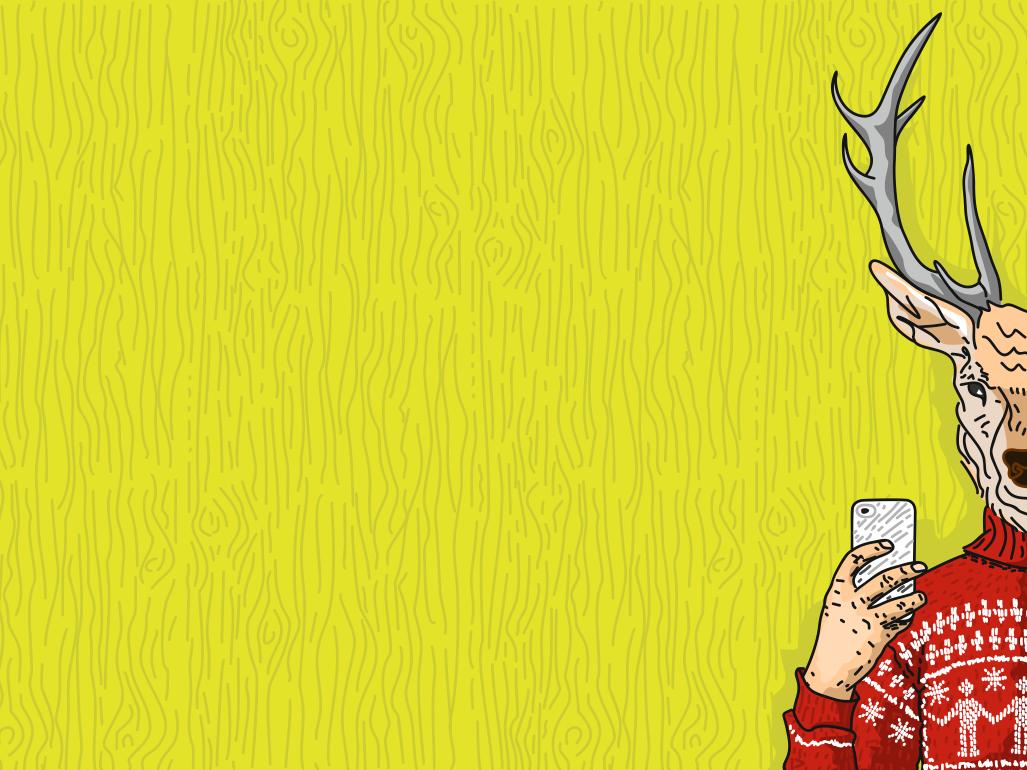 Deer вектор иллюстрация дизайн