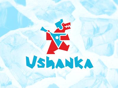 Самый русский логотип! иллюстрация вектор дизайн logo