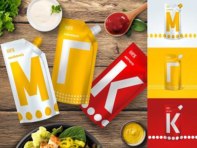 М.Г.К. logo design