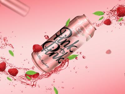 Pink to Pink typography branding ui design вектор иллюстрация
