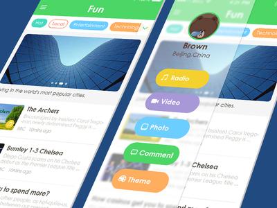 Have Fun! ios7 circle green iphone flat color news