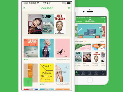 Book ios7 green flat baidu book read iphone6