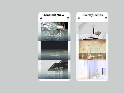Overlays Gradient and Blends sketchapp ui ux colour design web responsive
