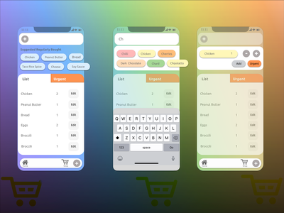 Food App High Fidelity Prototype webdesign shopping app food app mobile sketchapp