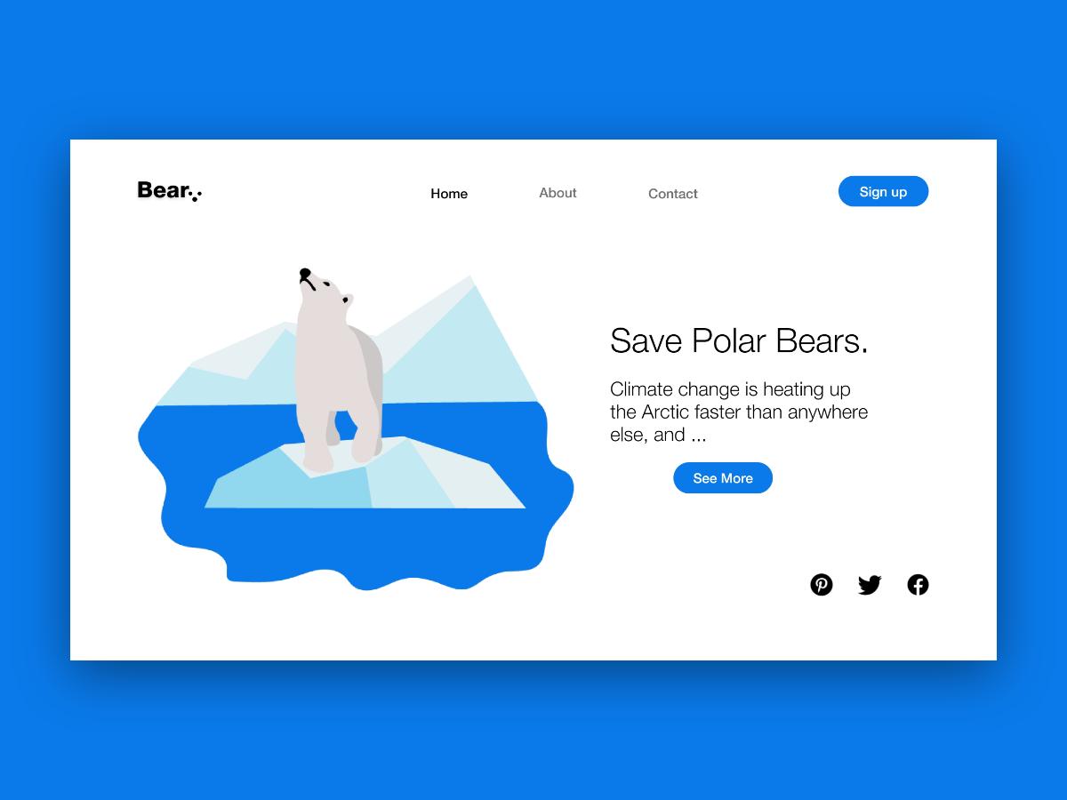 Save Polar Bears.