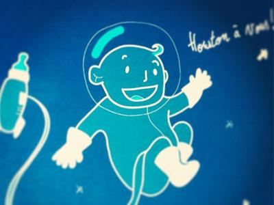 Houston bébé illustration bébé