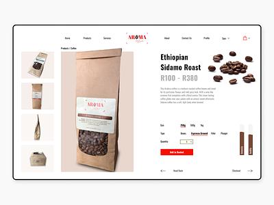 Daily UI #012 - E-Commerce Shop daily ui website ecommerce design dailyui ecommence web minimal ux ui