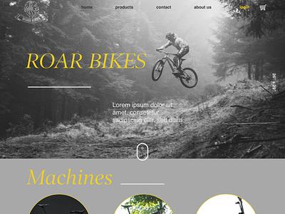 Homepage typography type website web ux ui minimal ecommerce design ecommence design