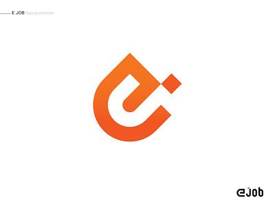 Logo ejob ejob logo ej ej icon typography logodesign tehran iran photoshop ui adobe branding type logo logotype