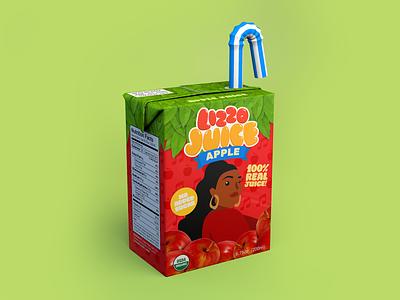 Lizzo Juice Box snack drink juice box juicebox lizzo c4d 3d
